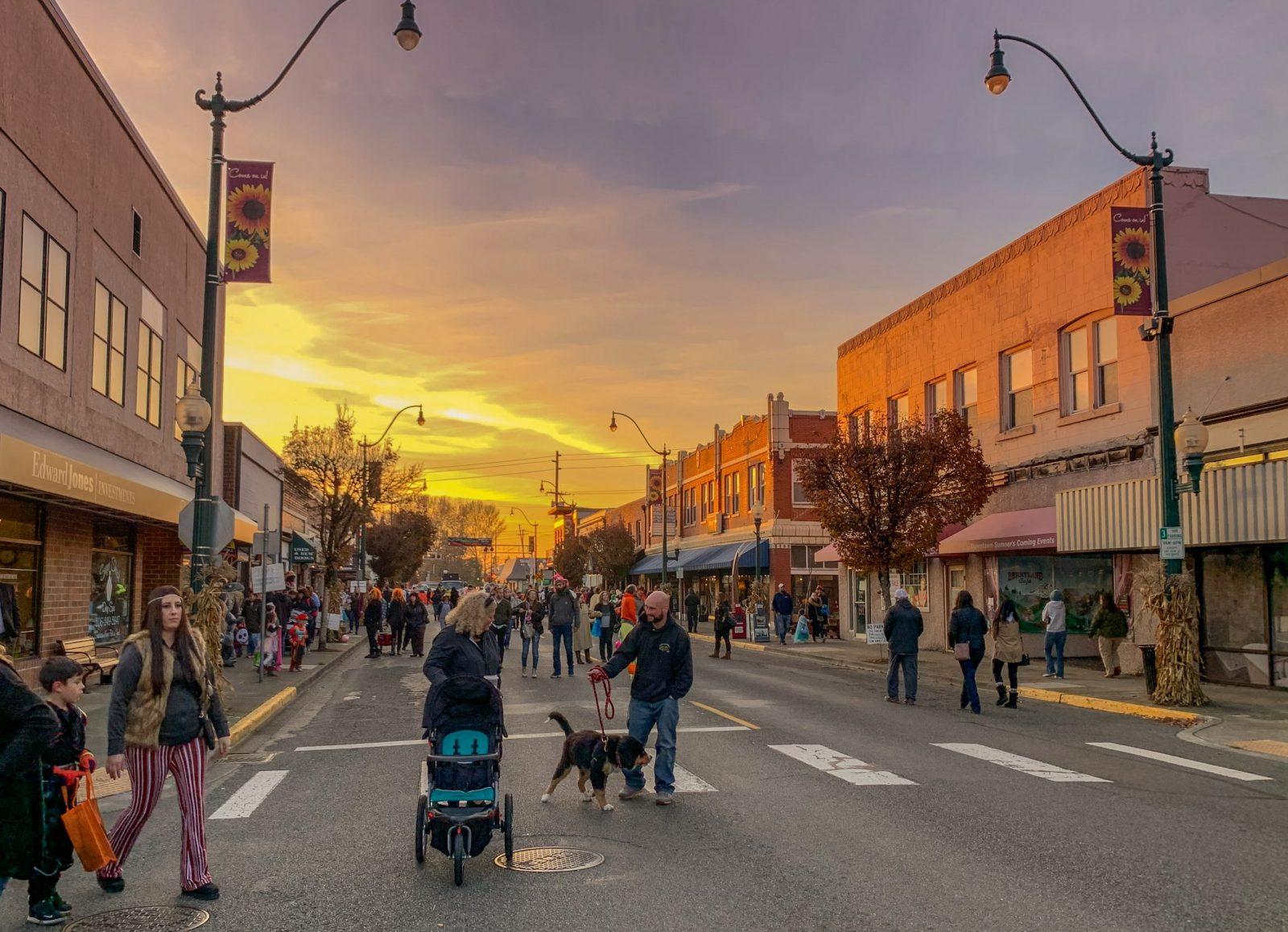 Downtown Sumner Shopping SMSA Sumner Main Street Association Washington