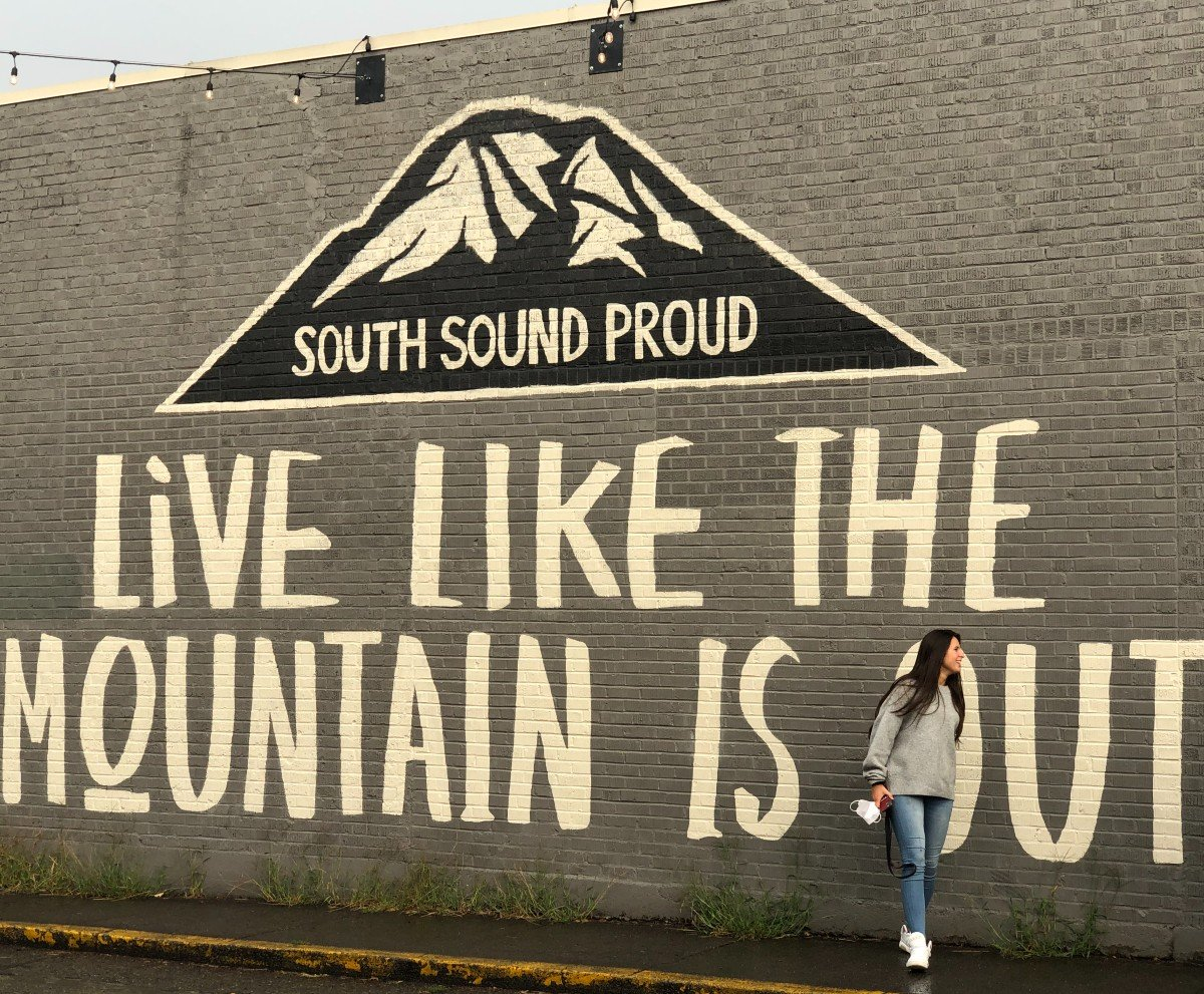LIVE LIKE THE MOUNTAIN IS OUT By Emily Cray Michael Hochstatter SUMNER WA