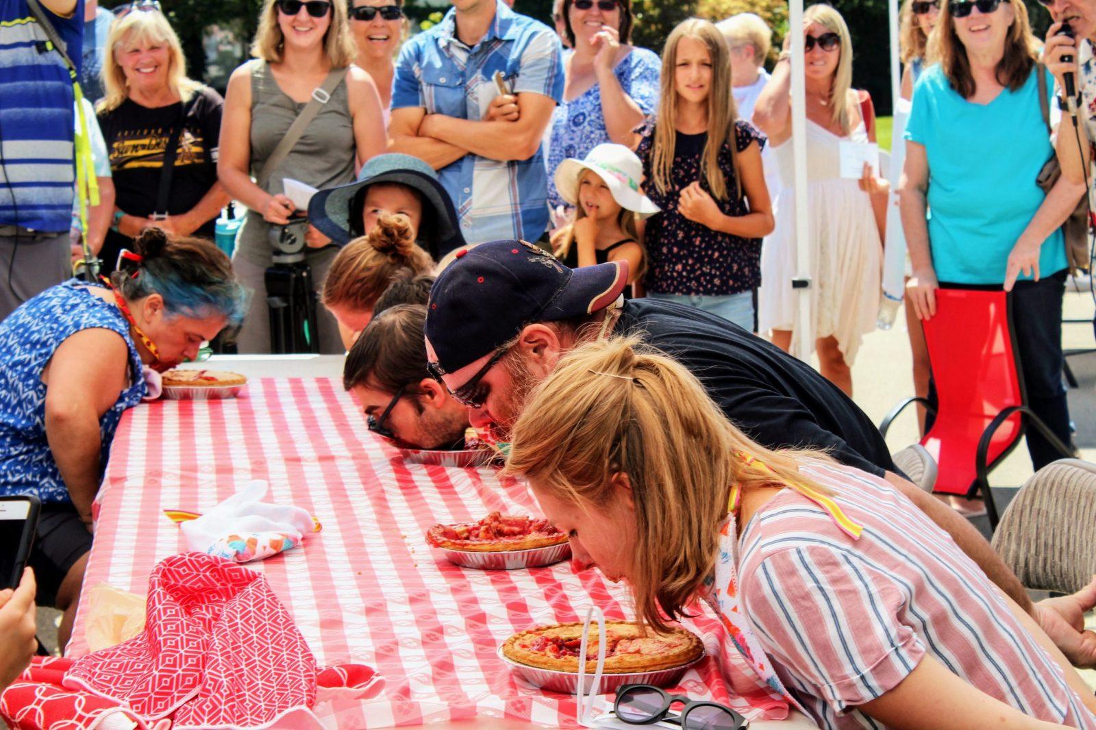Downtown Sumner WA SMSA Main Street Association Rhubarb Days Pie