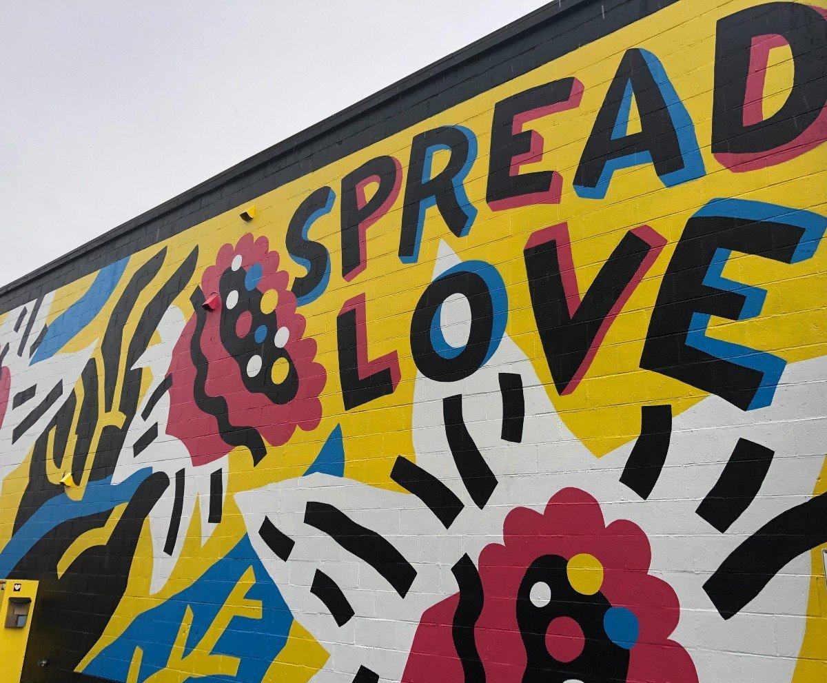 Spread Love by Jason Grube Sumner WA